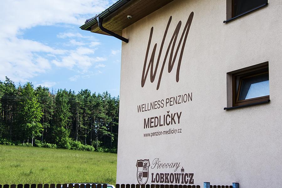 pension medlicky budova